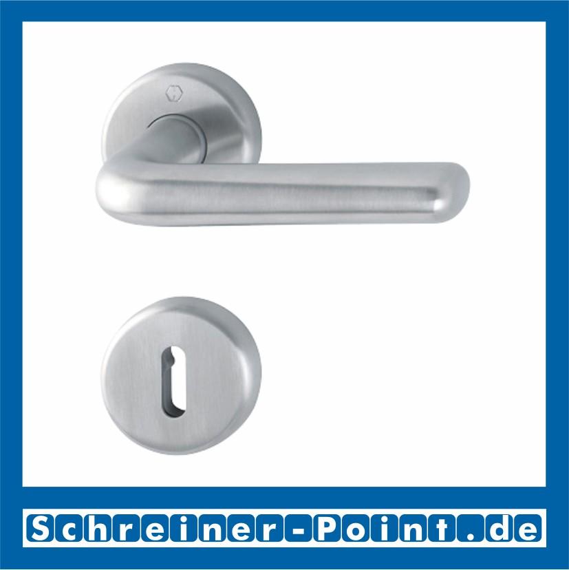 Hoppe Helsingborg Edelstahl F69 Rosette E1730Z//17KV//17KVS Bad WC Garnitur