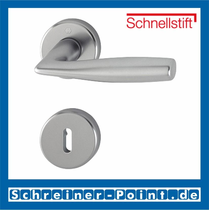 Hoppe Vitoria Aluminium Rosette F9 stahlfarben 1515//42KV//42KVS Bad WC Garnitur